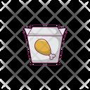 Drumstick Fastfood Legpiece Icon