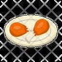 Drumstick Chicken Legpiece Icon