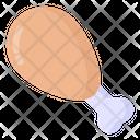 Food Chicken Drumstick Icon
