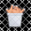 Drumstick Chicken Fast Food Icon