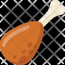 Drumstick Leg Piece Icon