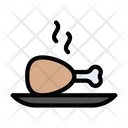 Drumstick Legpiece Food Icon