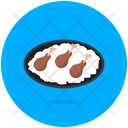 Drumsticks Chicken Pieces Leg Pieces Icon