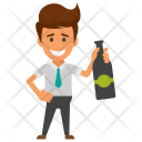 Drunk Cocktail Party Icon