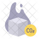 Dry Ice Cold Icon