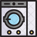 Washing Machine Dry Cleaning Service Icon