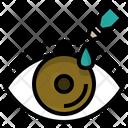 Dry Eye Problems Redness Icon