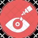 Dry Eye Eye Drop Eyedropper Icon