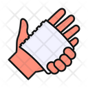 Clean Dry Hand Icon