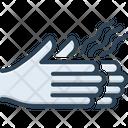 Dry Hand Scrawny Seared Icon