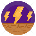 Dry Land Drought Dry Soil Icon