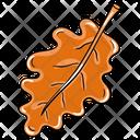 Dry Leaf Icon