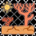Soil Dry Dead Tree Dead Tree Soil Icon