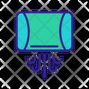 Wc Dry Contour Icon