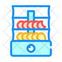 Dryer Vegetables Fruits Icon