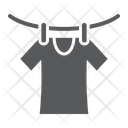 Drying Laundry Dry Icon