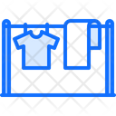 Drying Clothes Clean Icon