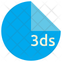 Ds File Format Icon
