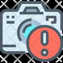 Dslr Camera Error Icon