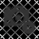 Dslr Camera Turn Icon