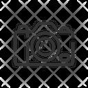 Digital Dslr Camera Icon