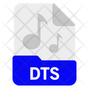 Dts File Format Icon