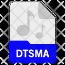 Dtsma file Icon