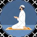 Dua Islam Man Icon