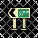 Dublin Traffic Sign Icon