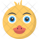 Round Face Duckling Icon