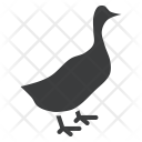 Duck Livestock Bird Icon