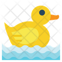 Duck Toy Child Icon