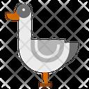 Duck Bird Isolated Icon