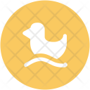 Duck Duckling Rubber Icon