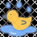 Duck Pool Wet Icon