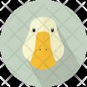 Duck Head Anatid Icon