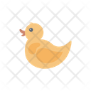 Duck Toy Rubber Icon