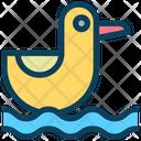 Duck Water Sea Icon