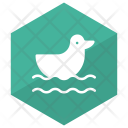 Duck Animal Swim Icon