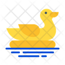 Duck Float Icon
