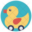 Yellow Duck Play Icon