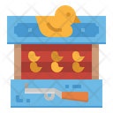 Duck Shooting Target Icon