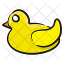 Duck Toy Rubber Duck Kids Toy Icon