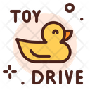 Duck Toy Toy Drive Icon