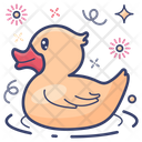 Duck Rubber Duck Kids Toy Icon