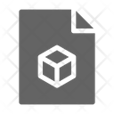D File Document Icon