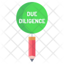 Due Diligence Icon