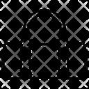 Duffel Bag Knapsack Haversack Icon
