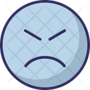 Dull Mmm Bemused Face Icon