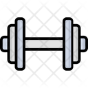Dumbbell Barbell Bodybuilding Icon